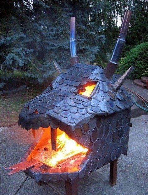 Dragon Fire Pit!
