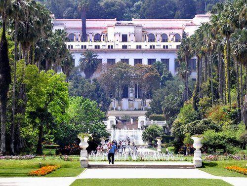 Jardin D Essai Du Hamma Alger With Images House Styles Mansions