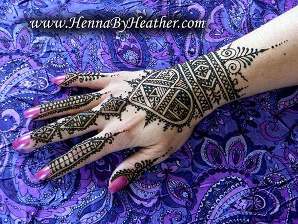 Moroccan Mehndi Patterns : Moroccan henna tattoos