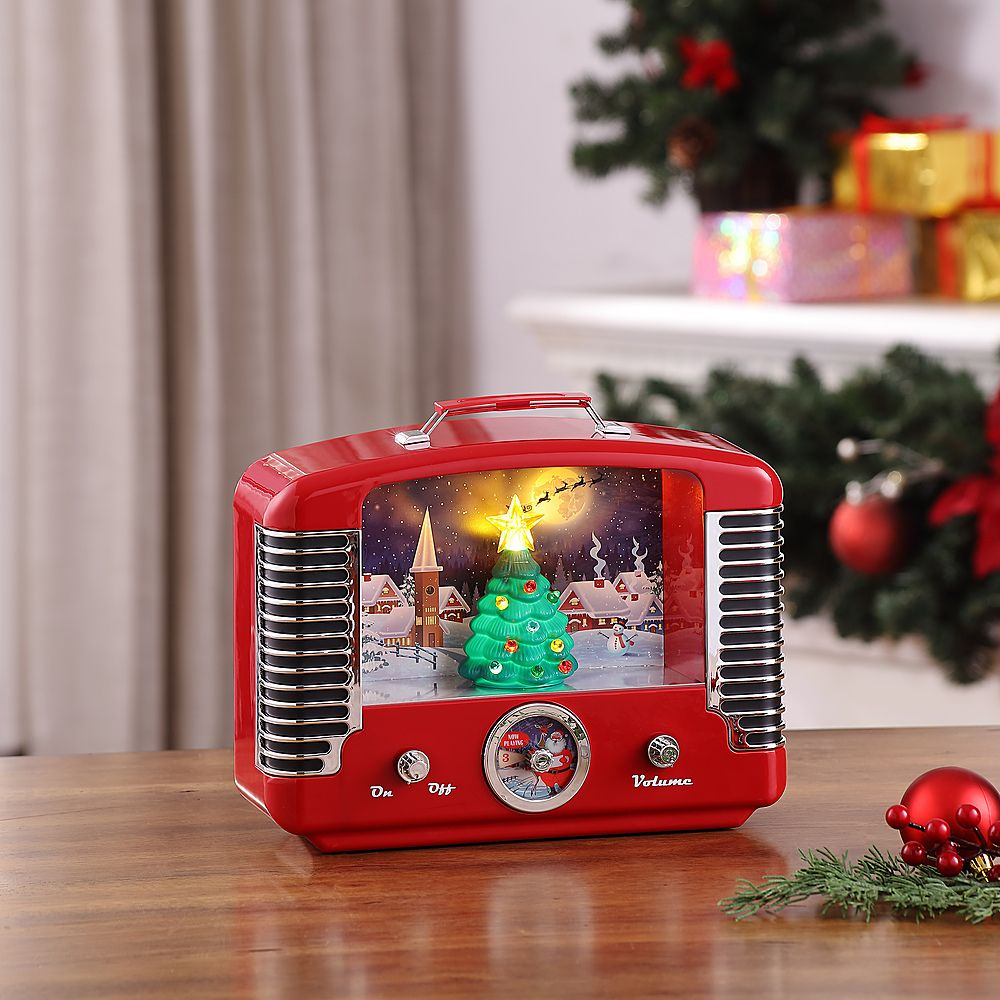 Mr Christmas Lighted Holiday Radio 79424 Best Buy In 2021 Mr Christmas Christmas Lights Classic Christmas Carols