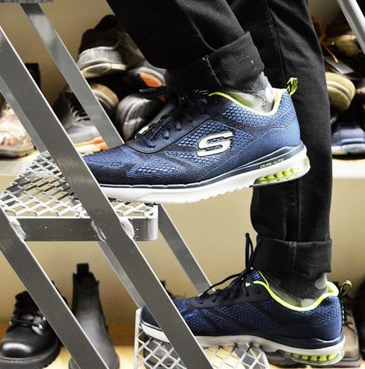 Soplar Colaborar con adverbio  We're hard at work at Skechers HQ to deliver new styles for Fall! | Skechers,  Skechers elite, Style