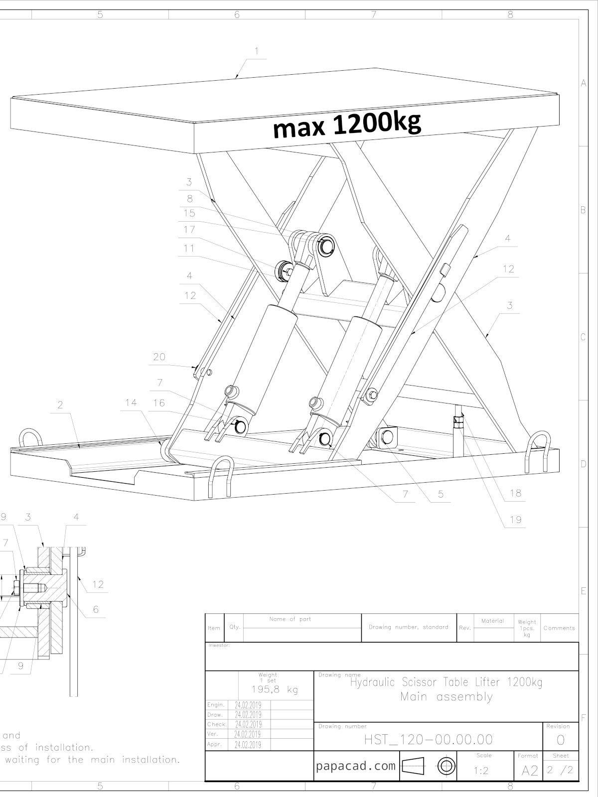 Scissor Lift Hydraulic Schematic