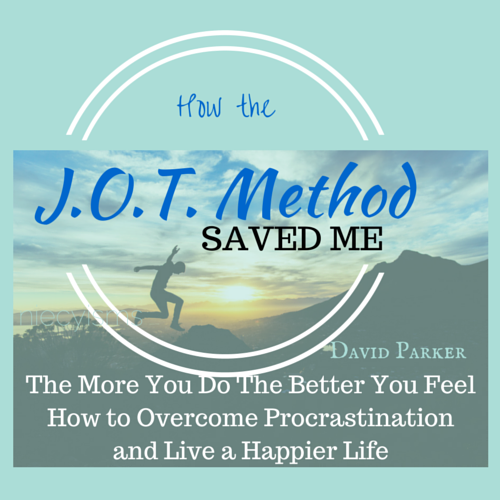 How the J.O.T Method in The More You Do, The Better You Feel Saved Me @niecyisms #amreading #motivation #productivity