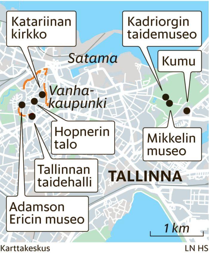 Taidenäyttelyitä Tallinnassa - Kulttuuri - Helsingin Sanomat