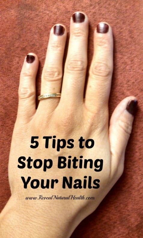 how to stop biting your fingernails