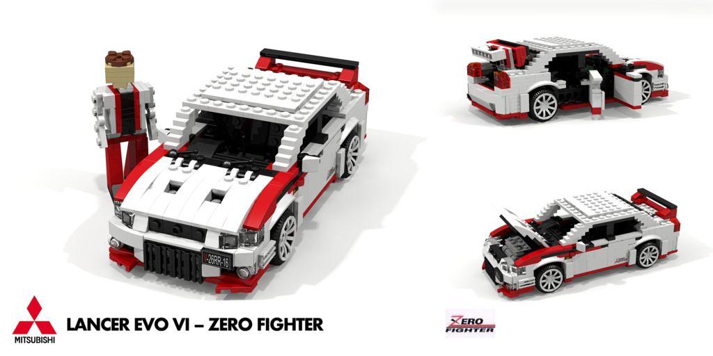 Pin by Alex Carroll on Lego | Pinterest | Mitsubishi lancer, Evo and ...