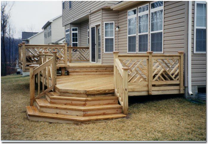 Best Deck Franchising Bullnose Flared Steps Bullnose Flared 640 x 480