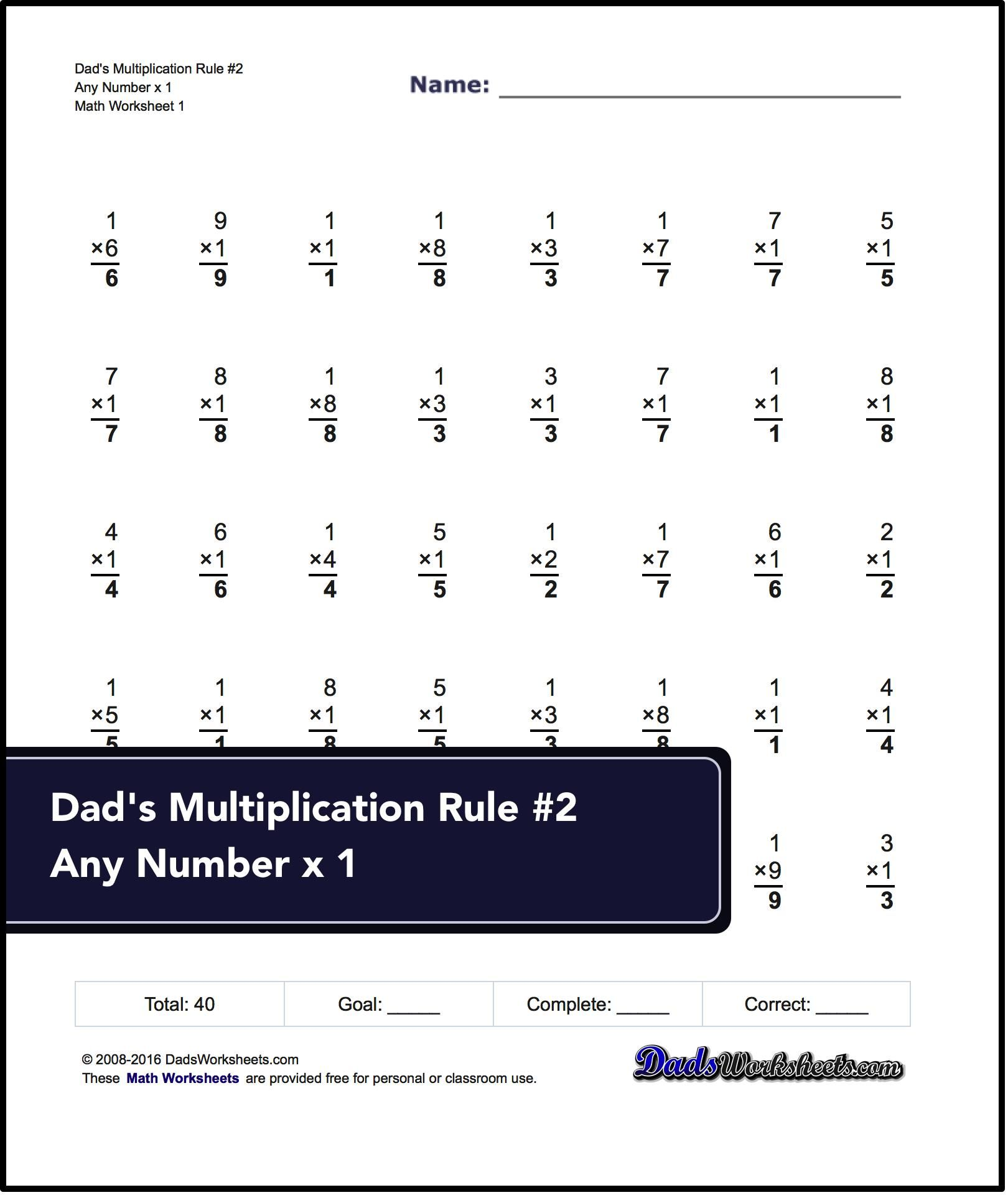 These 3rd Grade Math Worksheets Start With Addition