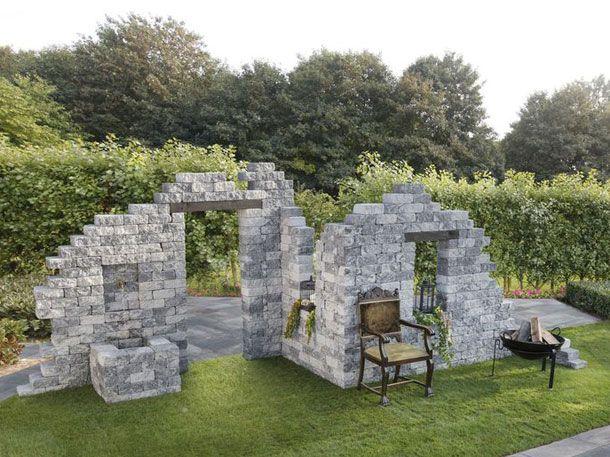 Lidl verkauft jetzt eine DIYRuine als Sitzecke Garten