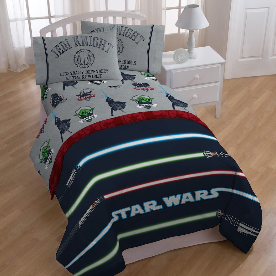 Star Wars Lightsaber Full Bedding Set Full Bed Bedding Master
