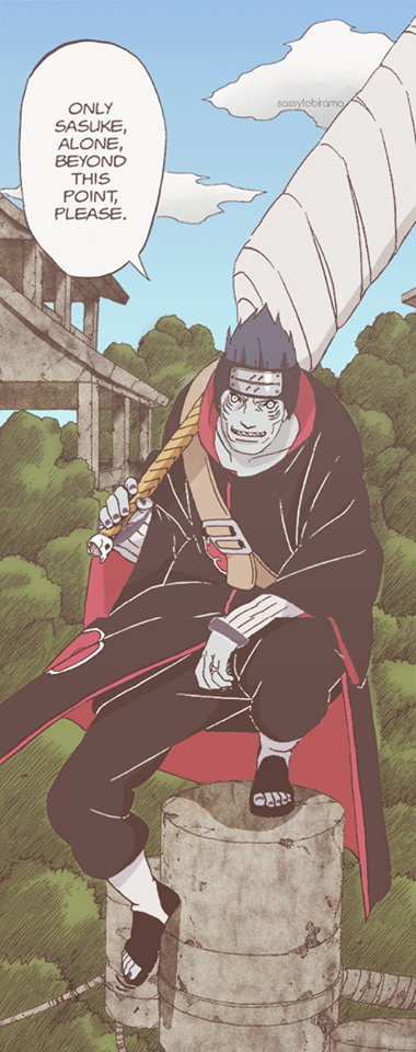 I'm truly curious as to what Kisame was thinking when he said this. Did he think Itachi would win or did he know what his partner's goal was?