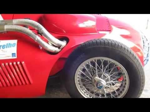 Test Drive Alfa Romeo 159 de 1950 Rep... - YouTube