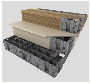 escalier pr fabriqu modulaire pour terrasse en bois garden diy pinterest escalier. Black Bedroom Furniture Sets. Home Design Ideas
