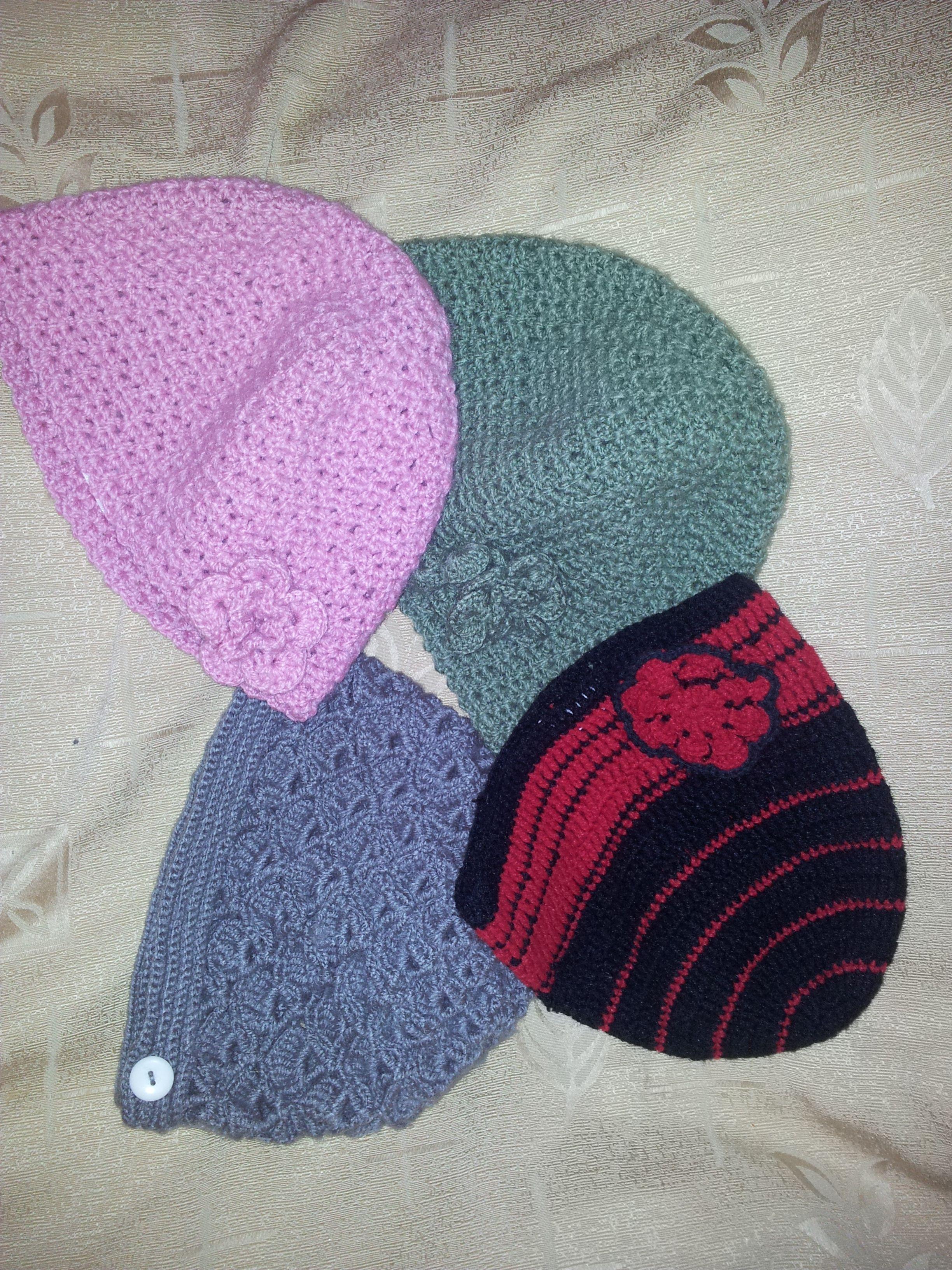#Tejido #Gorros #Crochet #knit