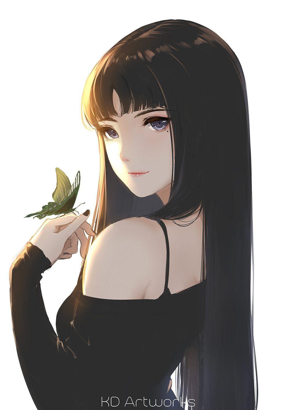 Pin oleh Willkim di Manga  Gambar anime, Seni anime, Gadis animasi