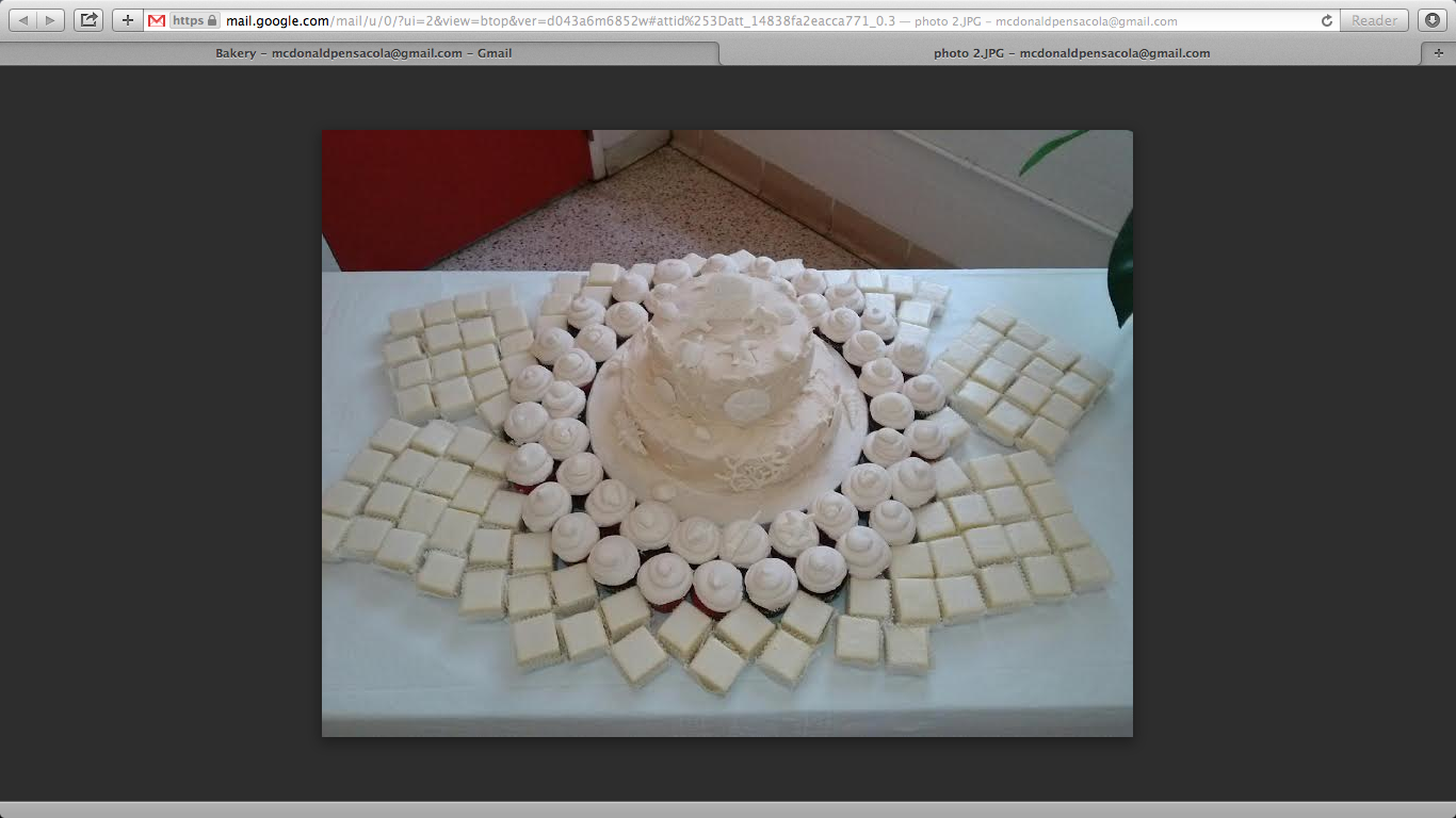 Gmail beach theme pictures - Beach Theme Cake With Petit Fours By J S Pastry Shop In Pensacola