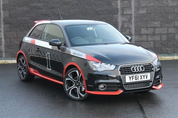 Audi A1 With Numbers On Is Girl Speak For Audi A1 Competition
