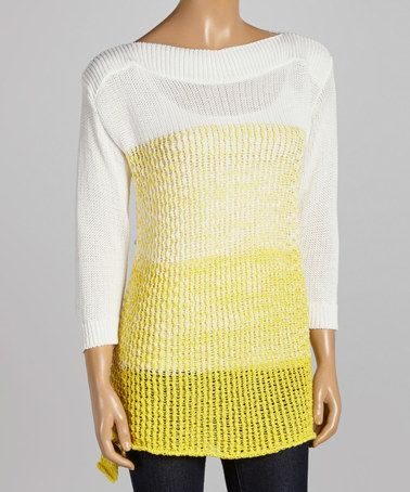 Parkhurst Yellow Ombré Sweater Tunic | Tunics, Casual chic and ...