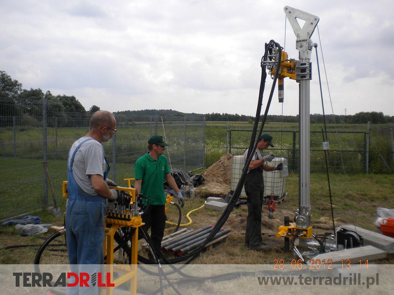 Wiertnica do geotechniki i geologii inżynierskiej Beretta T-19