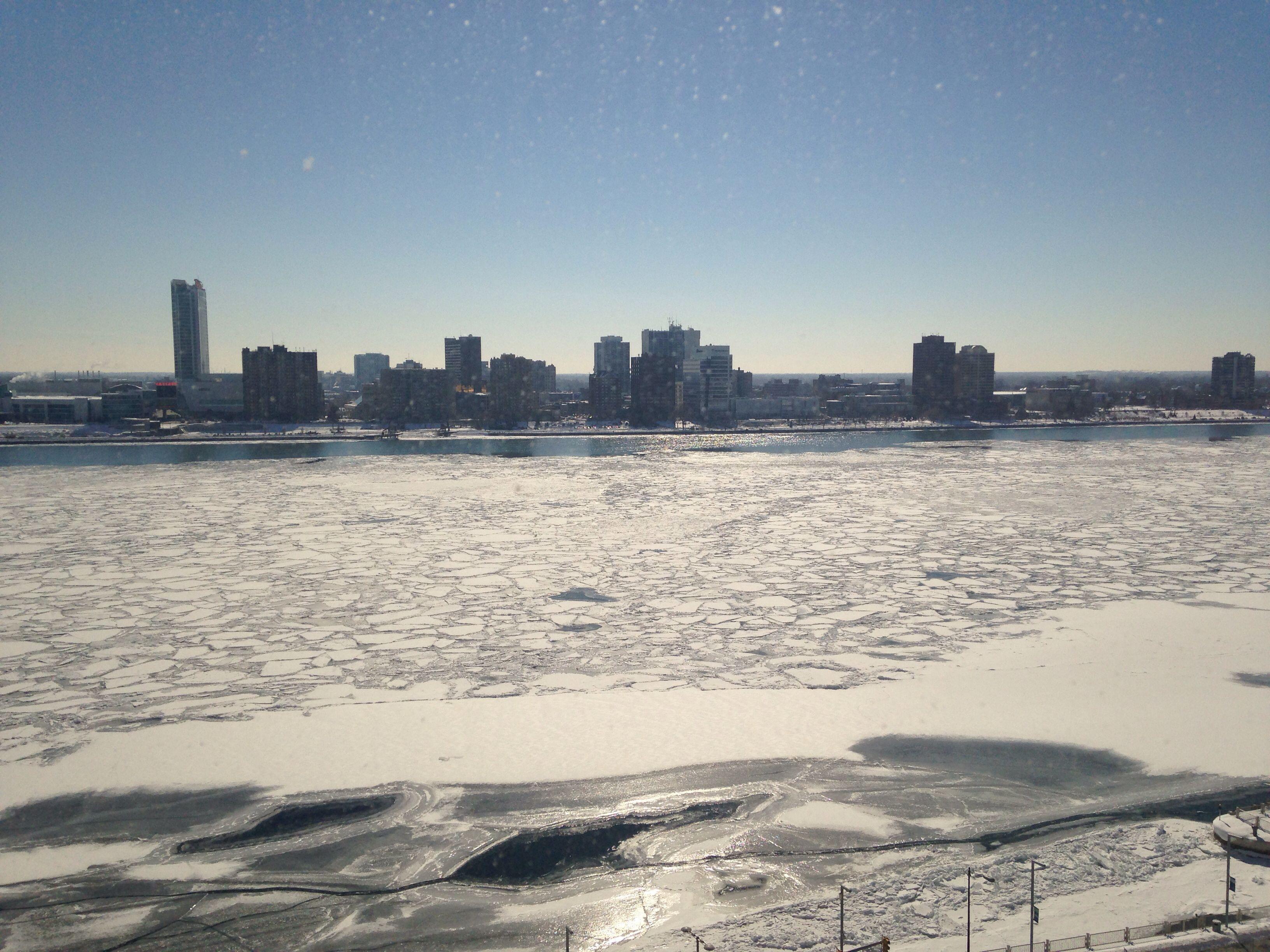 Detroit river - Canada
