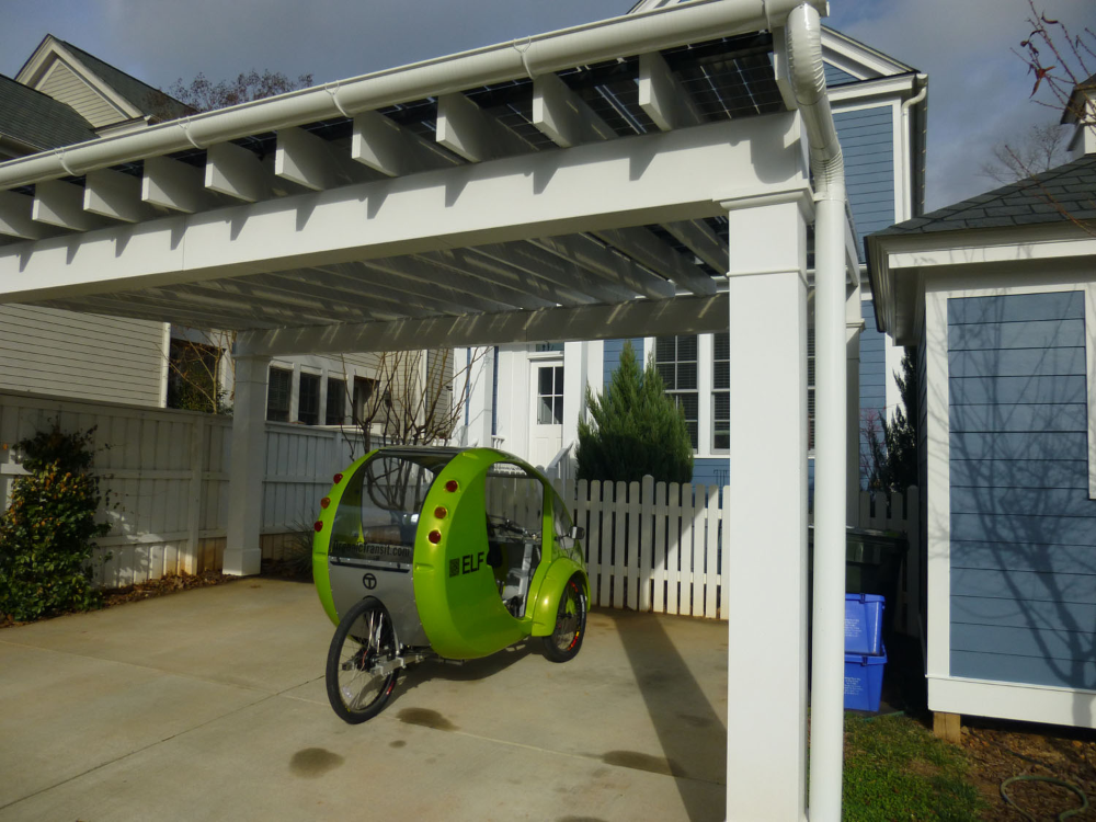 Solar Panel Carport Blue Green House Carport designs