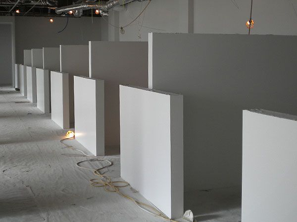 drywall cubicles