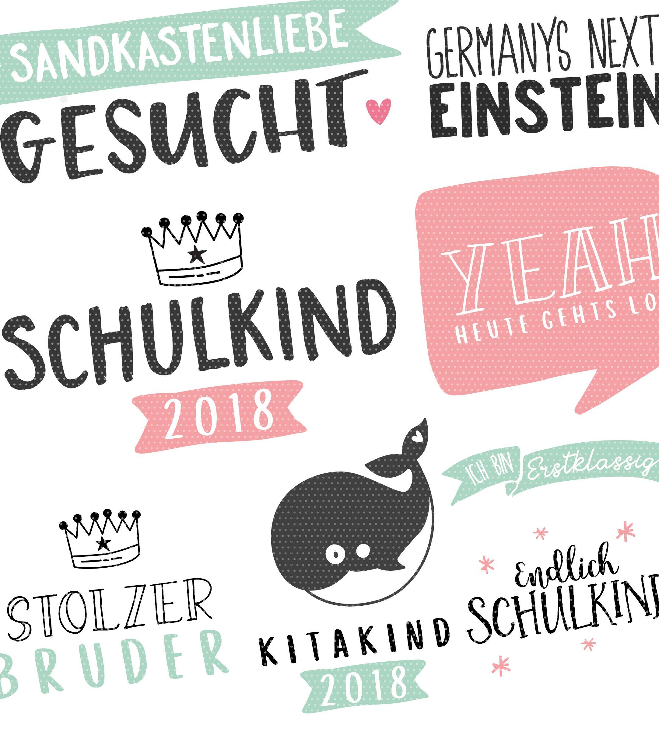 Plottervorlage Durchstarter Schule, Kita & Krippe 2018 | Pinterest ...