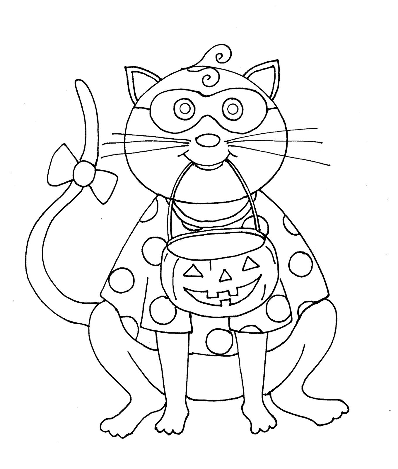 Atractivo Color De Halloween Imprimible Gratis Por Número De Páginas ...