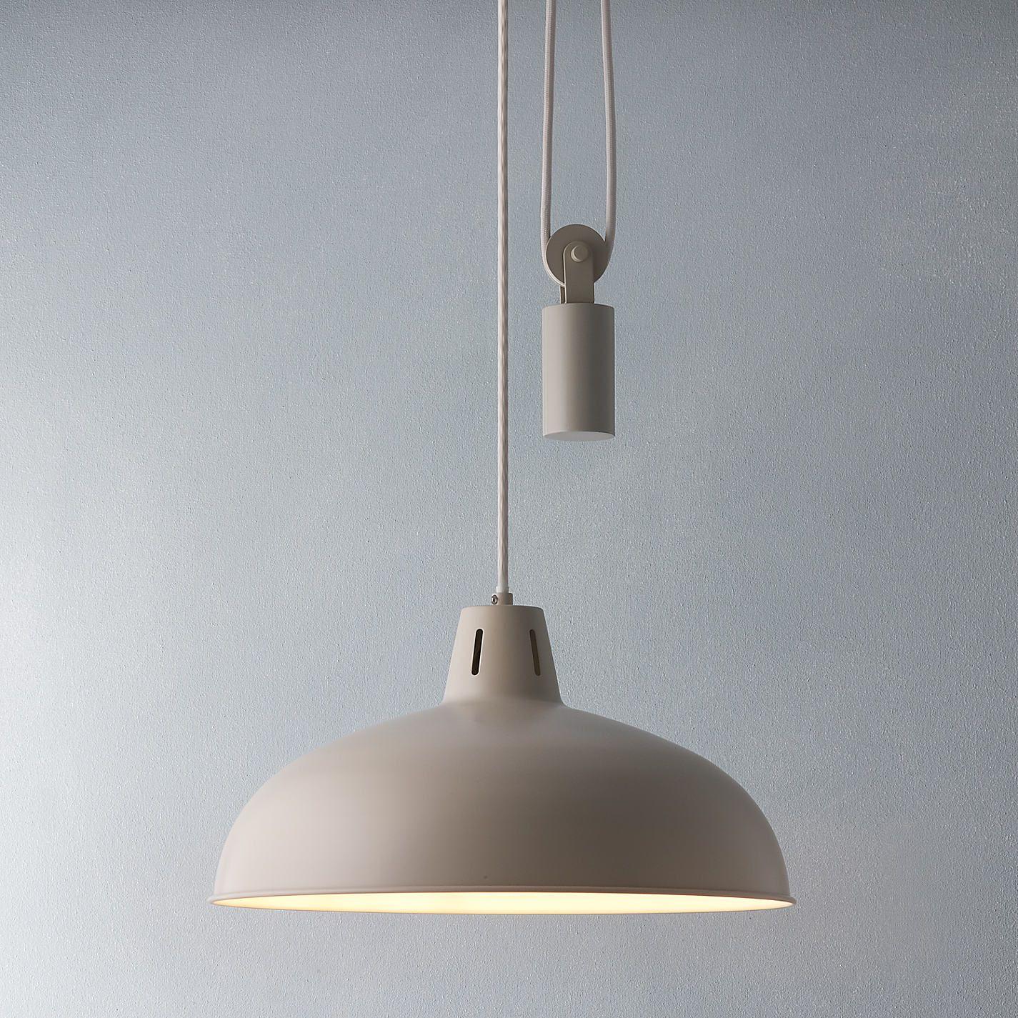 buy product retractable pendant light john lewis brigitta. Black Bedroom Furniture Sets. Home Design Ideas