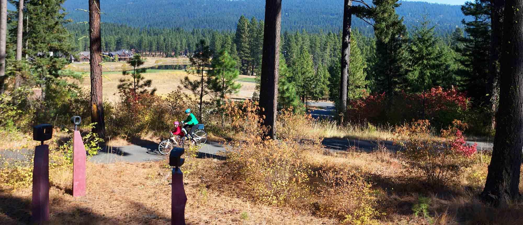 Bike Trails Washington State Suncadia Resort Trails