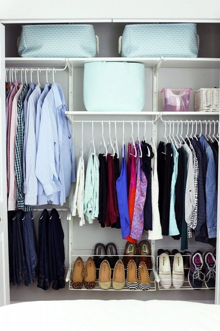 How To Organize Every Room In Your House With Storage Bins Decor Essentials Closet Planning Home Organization