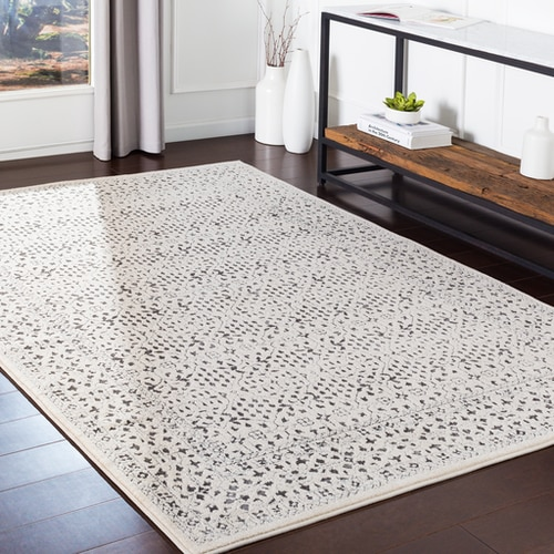 Sattley Satt With Colors Medium Gray Medium Gray Charcoal Beige Machine Woven 60 Polypropylene 40 Polyes In 2020 Area Rugs Traditional Area Rugs Moroccan Area Rug