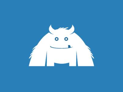 Logo Yeti Character Design Cool Logo Logos
