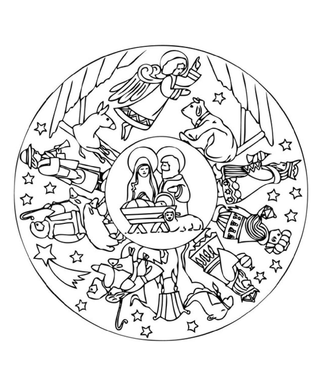 Ideenreise: Malvorlage für den Nikolaustag | Sankt Nikolaus / Saint ...