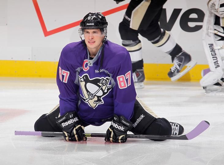 My Two Favorite Things Hockey And Purple Hockey Fights Hot Hockey Players Pittsburgh Penguins Hockey