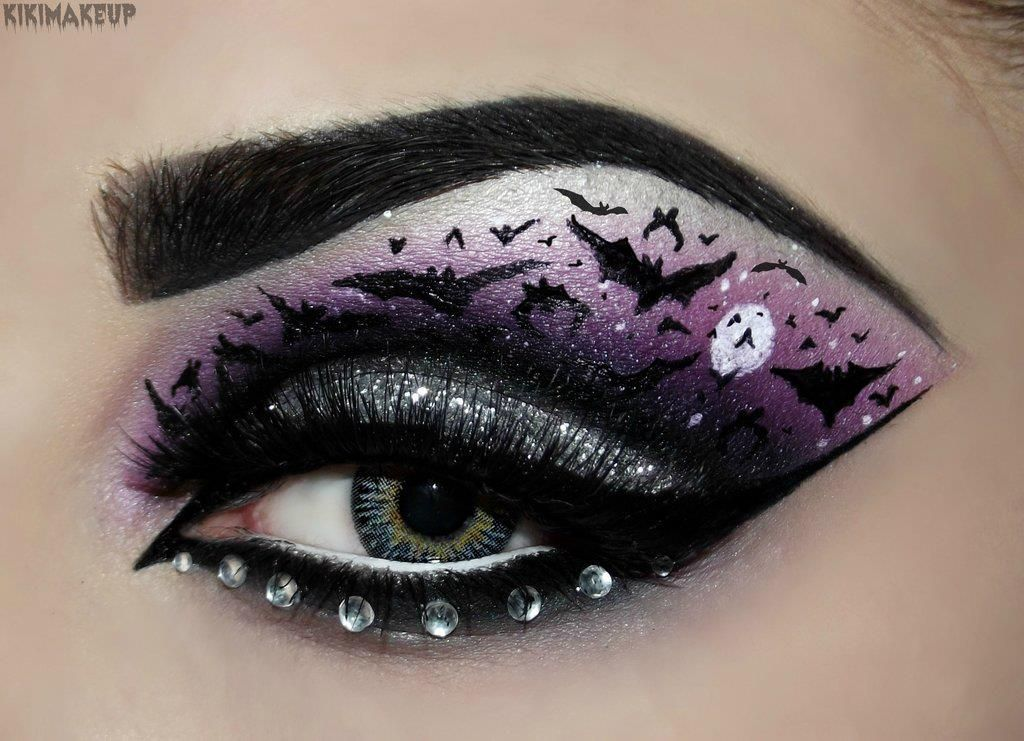 Whoa Wearing To School On Halloween Makeup Pinterest