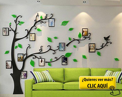 ZPL 3D Crystal árbol pared pegatinas foto marco... #cuadro 3d | DIY ...