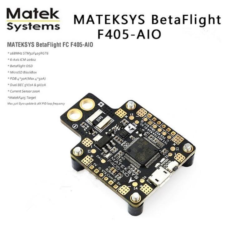 MATEKSYS BetaFlight F405-AIO integrated flight control F4 FC