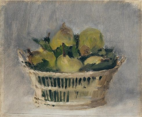 Édouard Manet (1832–1883): Basket of Pears Oil on canvas | 35 x 41 cm | 1882