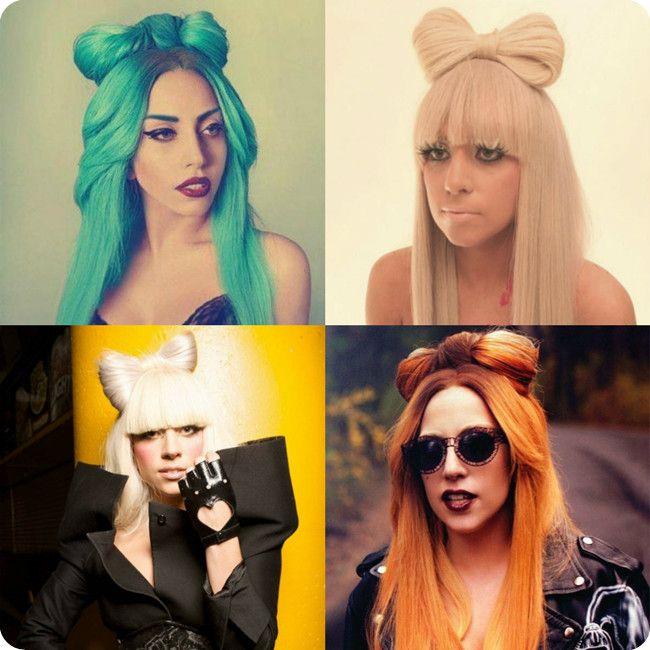 Lady Gaga Schleifenfrisur Selber Machen Mit Clip In Haarverlangerung Zopf Frisuren Hochzeit Frisur Hochgesteckt Zopffrisuren