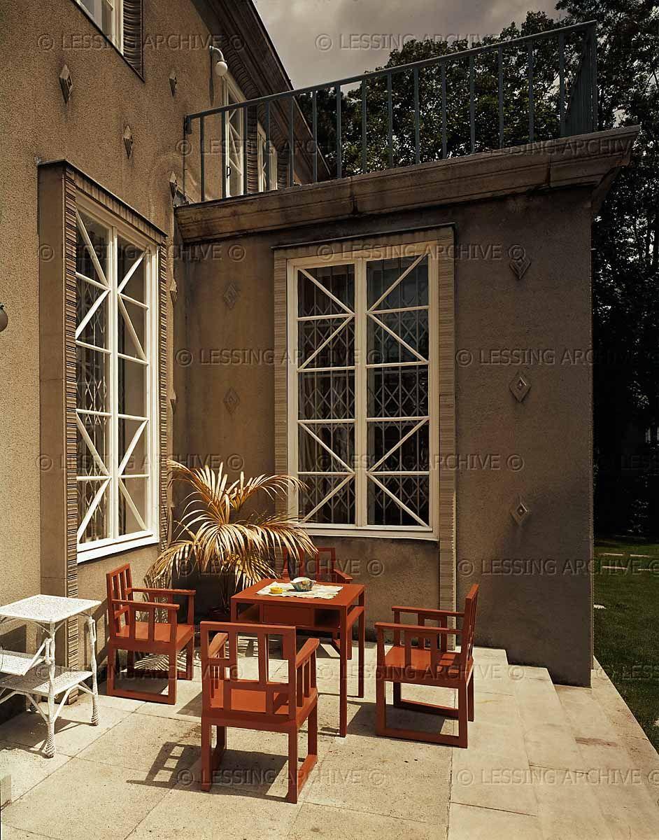 Villa knips josef hoffmann inspiration interior for Interior design osterreich
