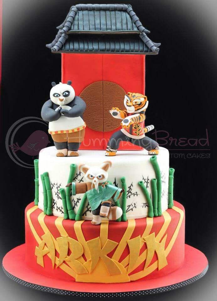 kungfu panda   kung fu panda / agent oso / panda cakes   pinterest