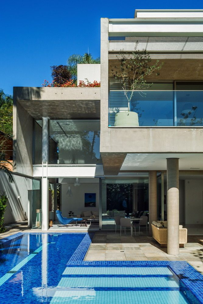 Galeria de resid ncia mg reinach mendon a arquitetos - Residencia de manila swimming pool ...