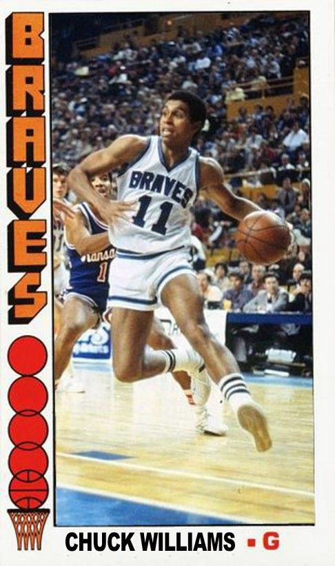 Chuck Williams Buffalo Braves Braves Basketball Players Nba Players