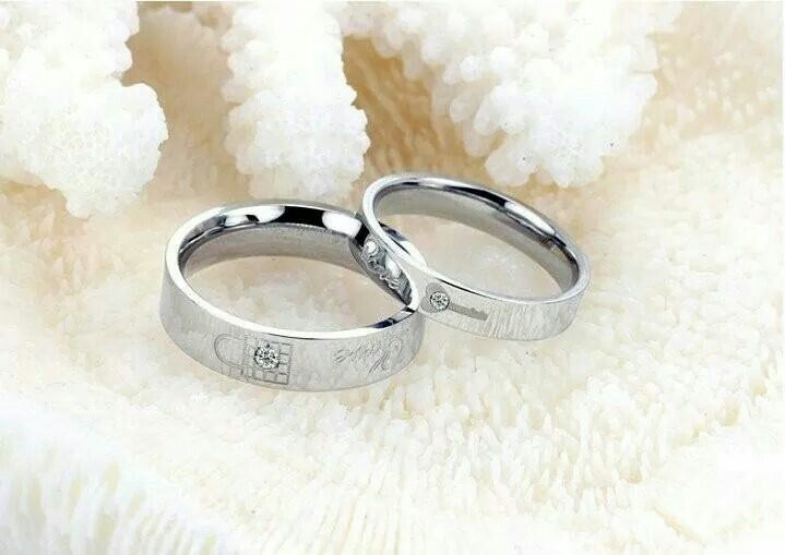 d1e7555dc3 Boy and Girl friend ring set | Wedding Ideas | Rings, Promise rings ...
