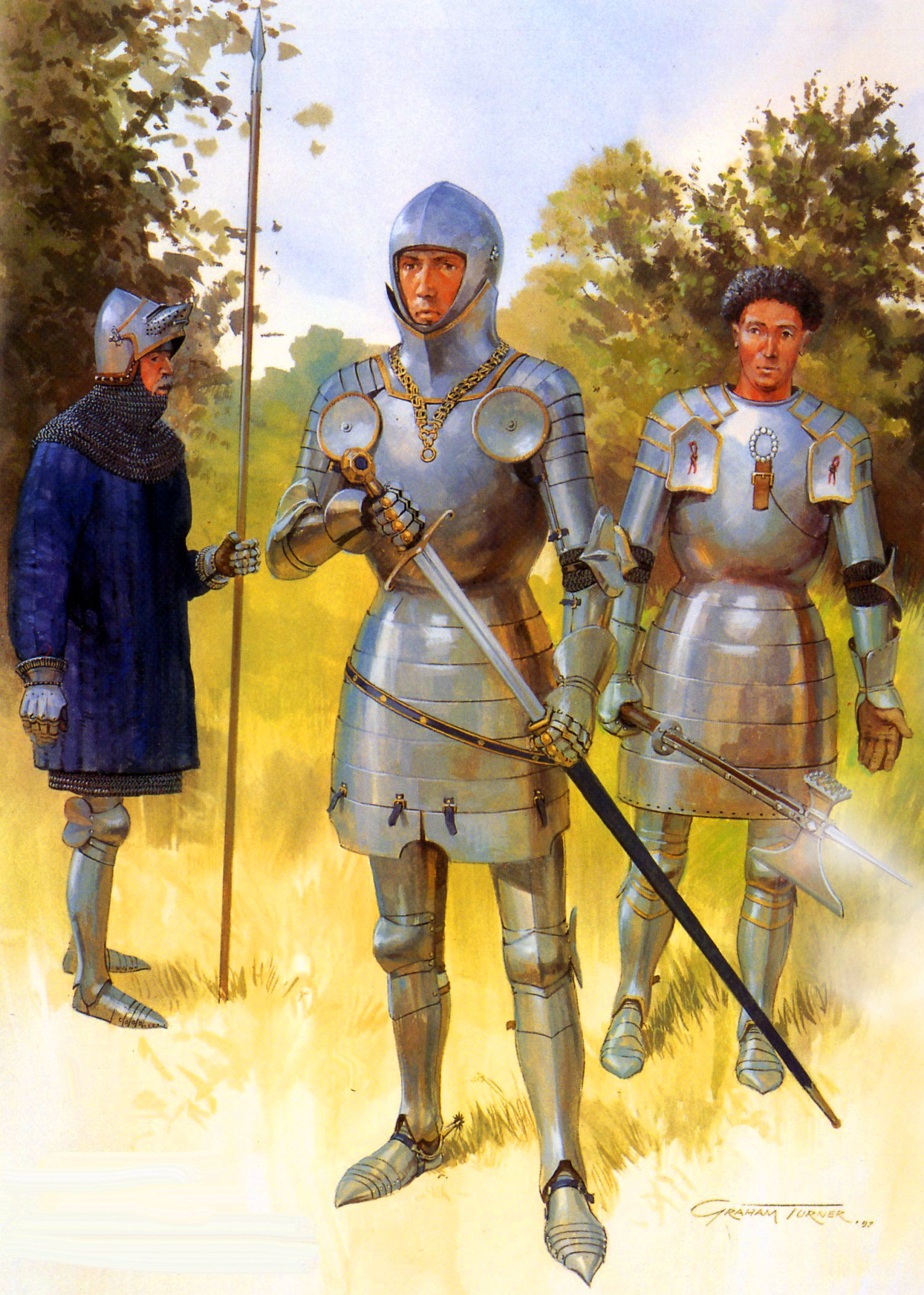 English Lances During The Hundred Years War
