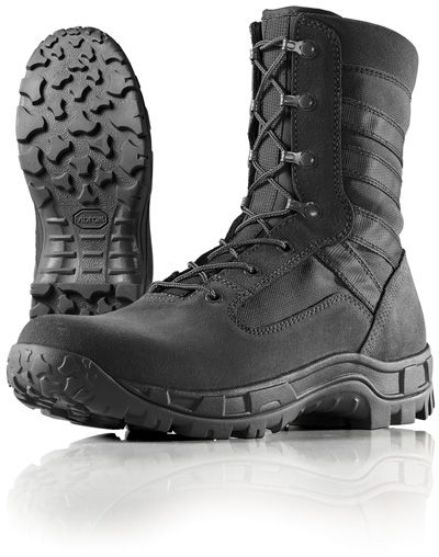 Wellco Mens 8 Inch Black Gen II Hot Weather Jungle Boots   B110 ... e40c3bed37