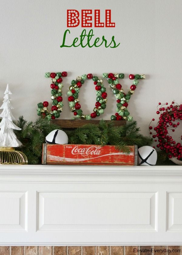 Jingle Bell Joy Letters Decoration Christmas Diy Christmas Joy Christmas Fun