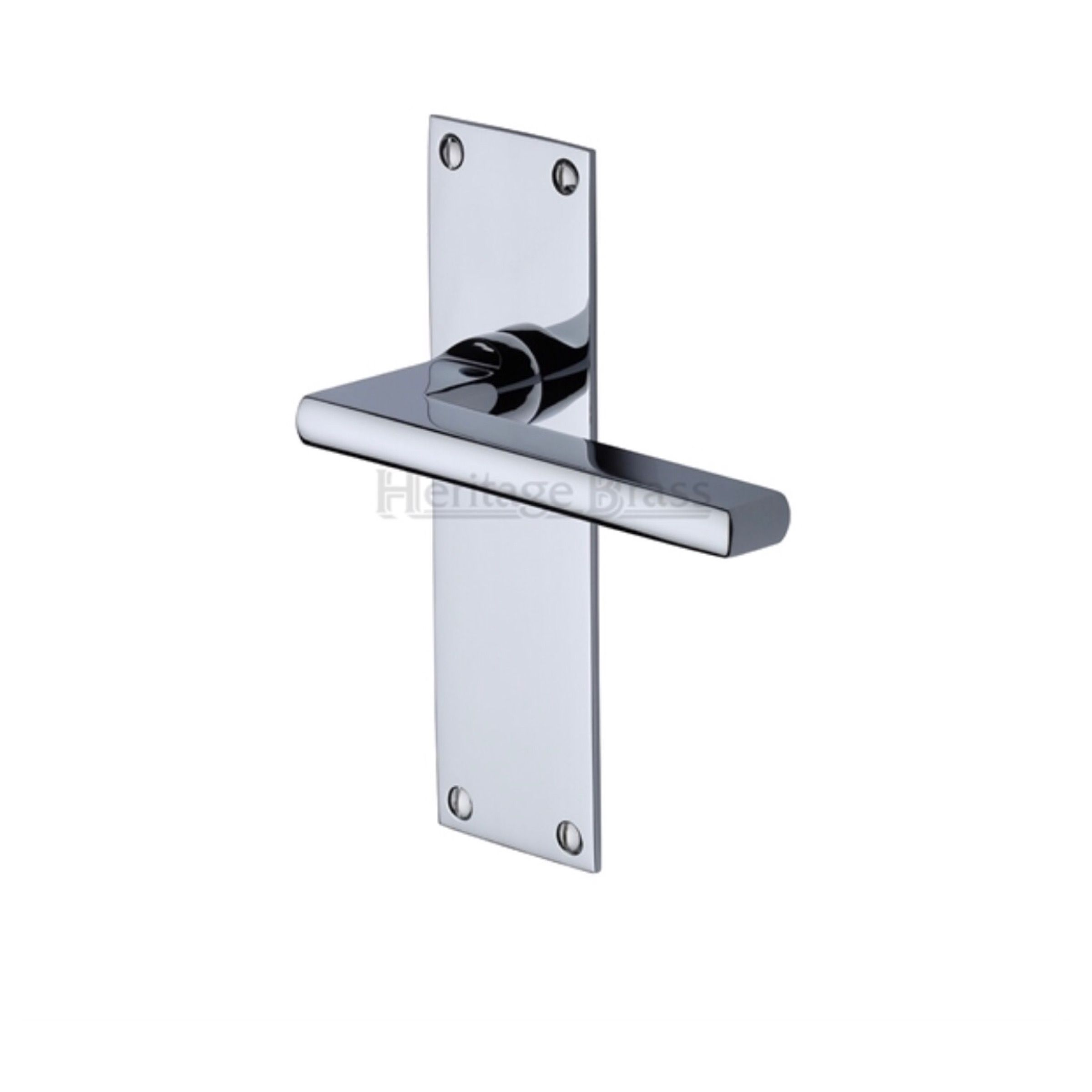 Trident Low Profile Profile Door Handles On Backplate   Dimensions 170mm X  50mm, Supplied In Pairs, Supplied With Spindle U0026 Screws A 38mm Bore Will Be  ...