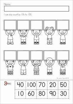 100th day of school worksheets and activities no prep january activities for kids 100 days. Black Bedroom Furniture Sets. Home Design Ideas